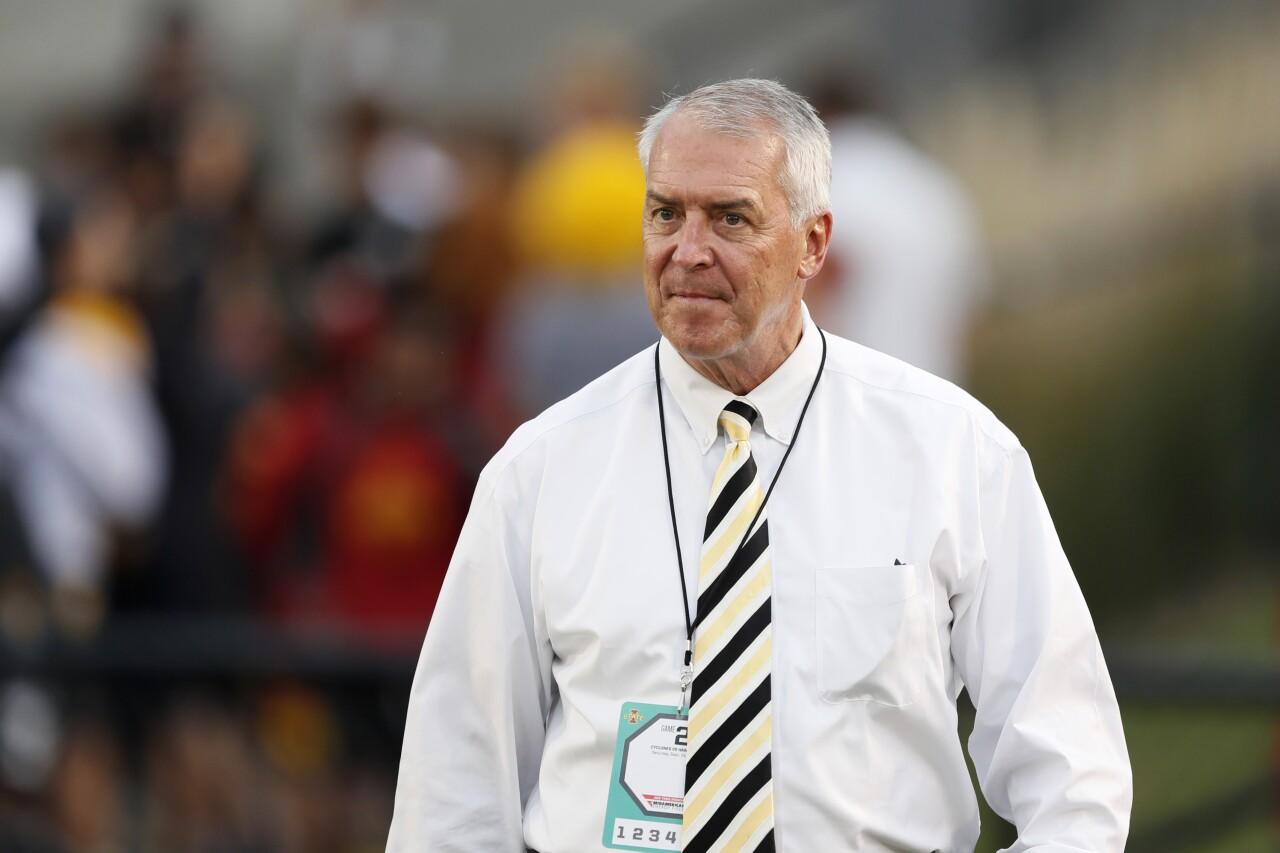 Iowa Hawkeyes athletic director Gary Barta in 2019