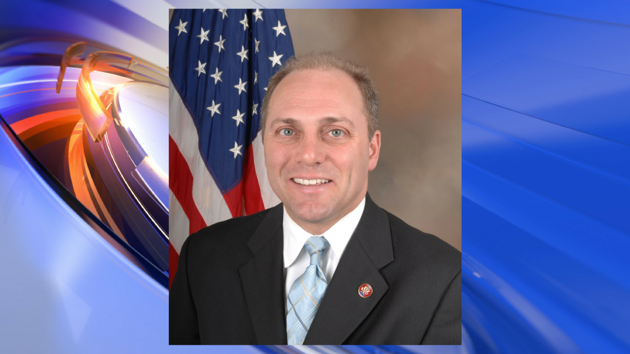 Congressman wounded in Alexandria baseball shooting back in ICU in serious condition