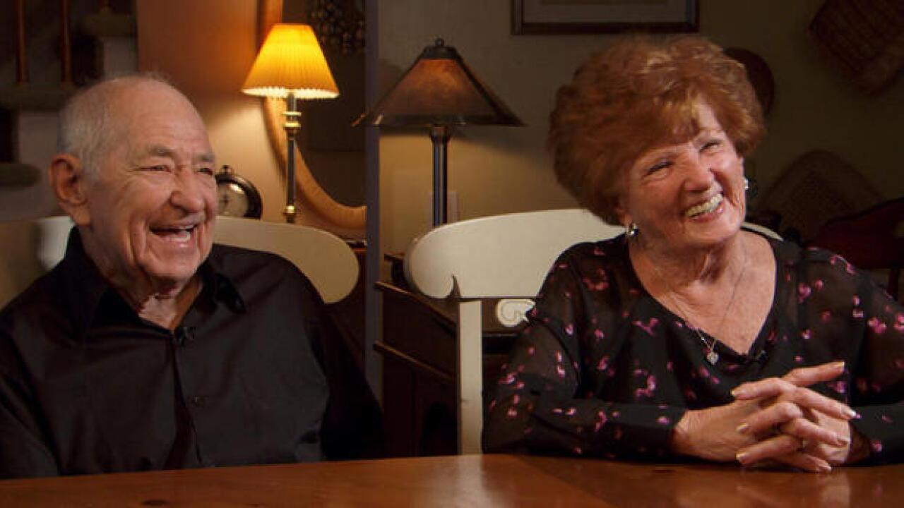 Couple closer than ever after husband's brush with death