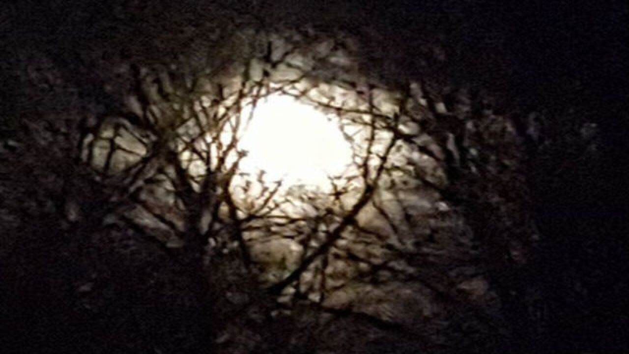 PHOTOS: Christmas full moon
