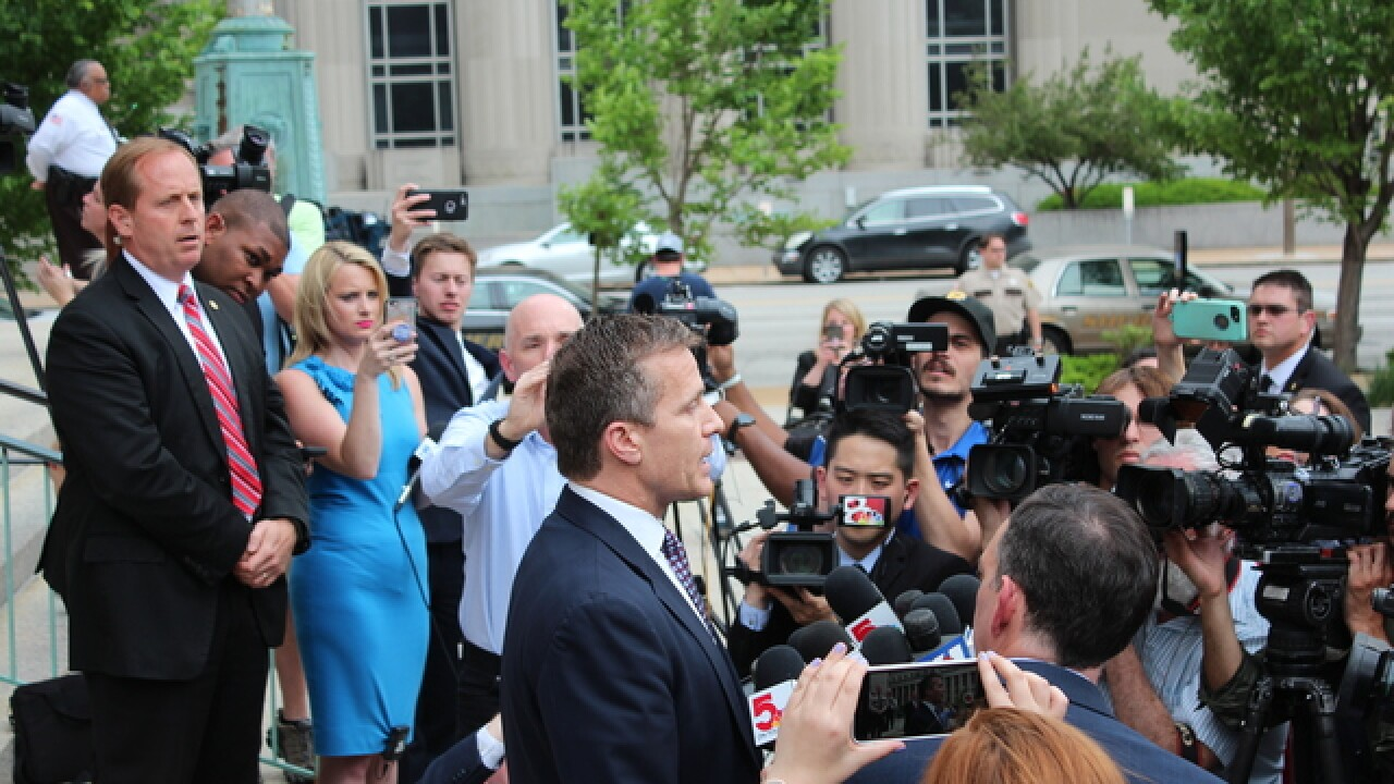 Criminal case against Greitens dismissed