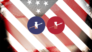 Vaccine partisan divide