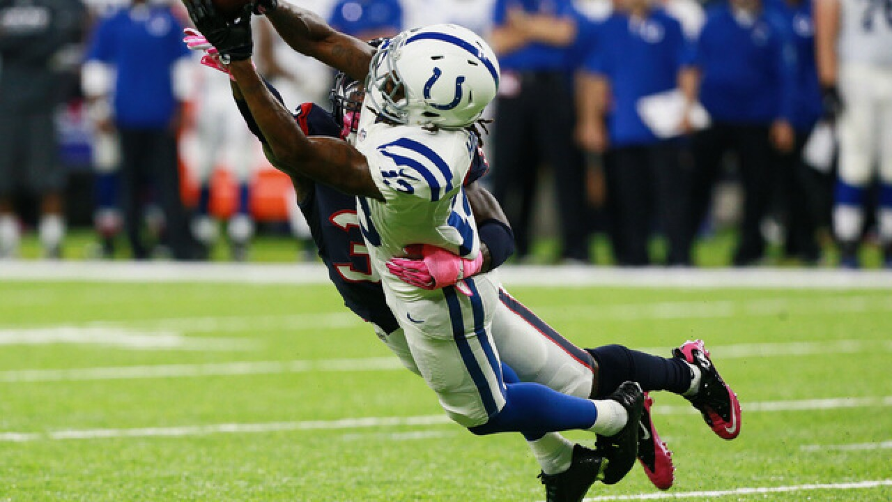 PHOTOS: Colts lose at Houston in overtime