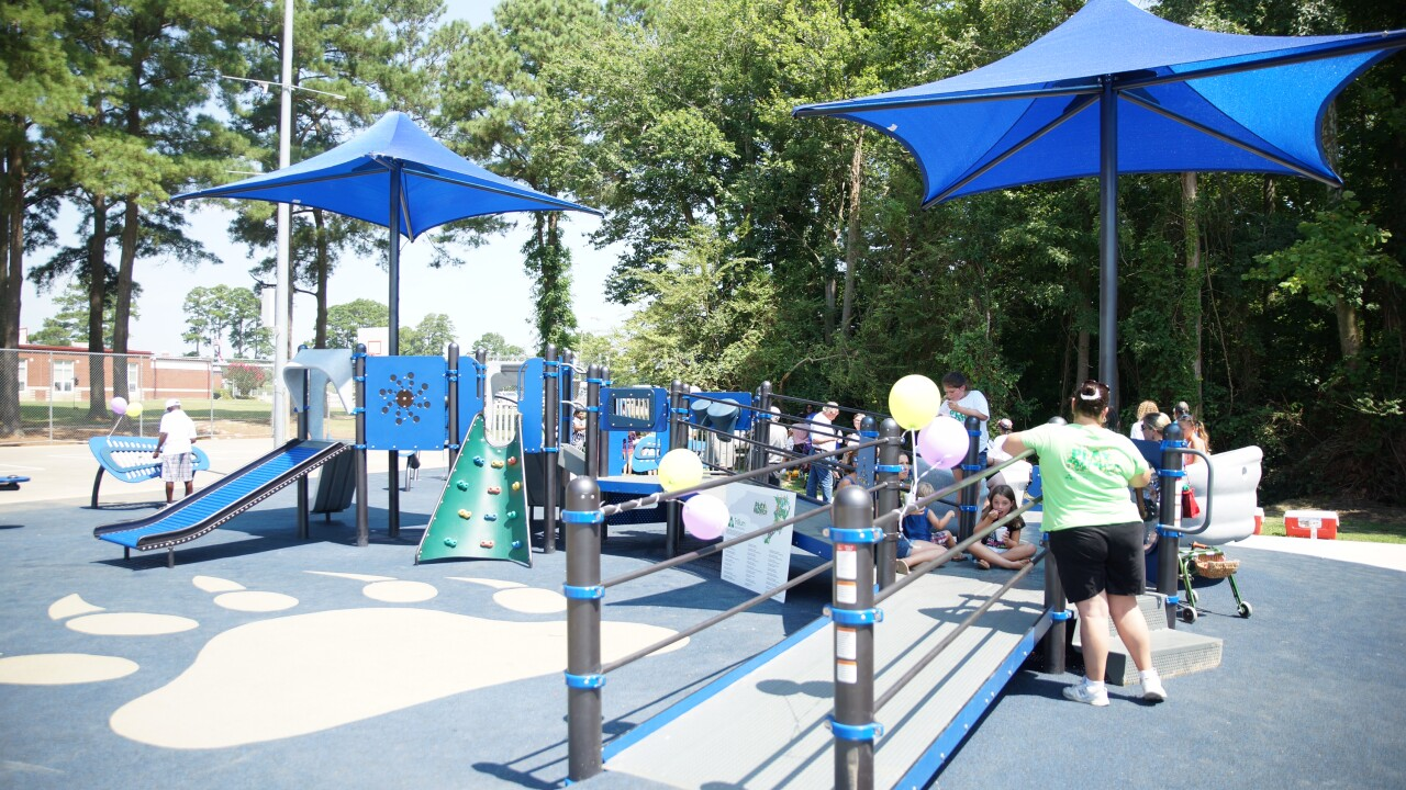 Camden County opens playground accessible to people of all abilities