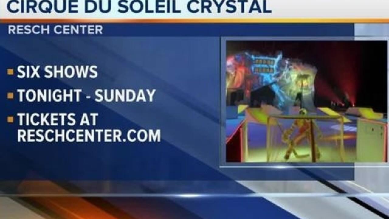 Cirque du Soleil Crystal comes to Titletown