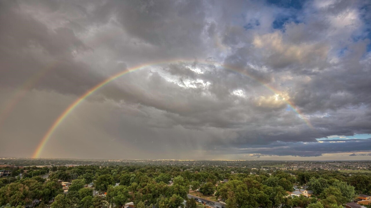 Larry Marr rainbow Colorado Springs