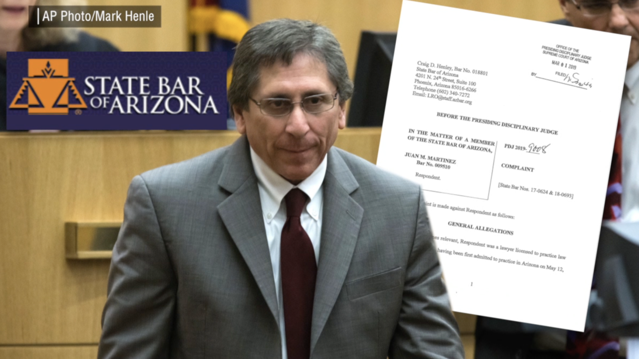 Portions of ethics charges tossed against Maricopa County