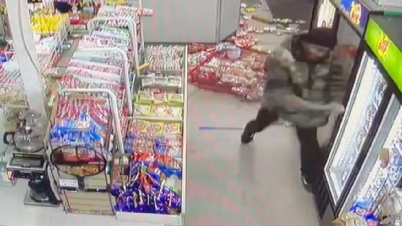 Police: Man with pole trashes Asian-owned convenience store