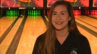 KATC's Senior Spotlight: LHS bowler Abigail Reeves