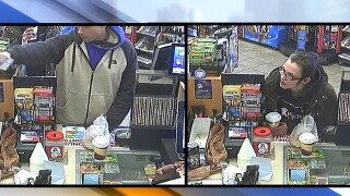 Stow speedway robbery suspects