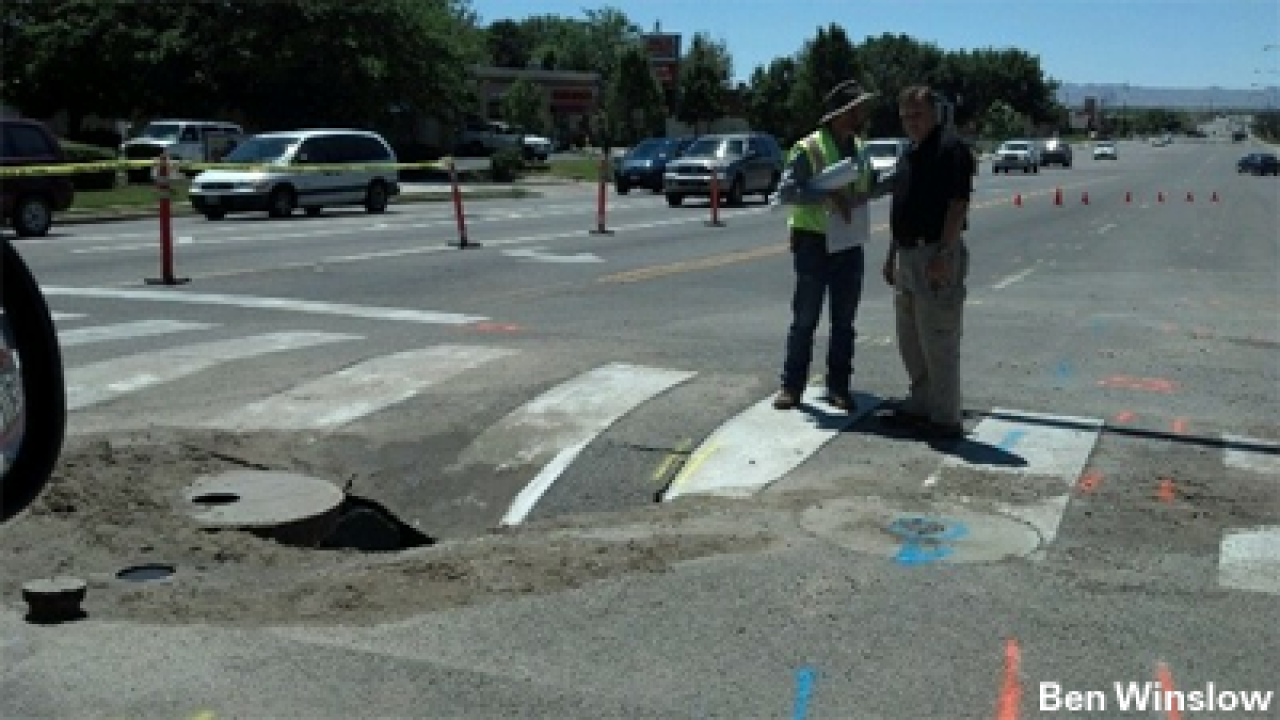Parrish Lane in Centerville reopens after water line break