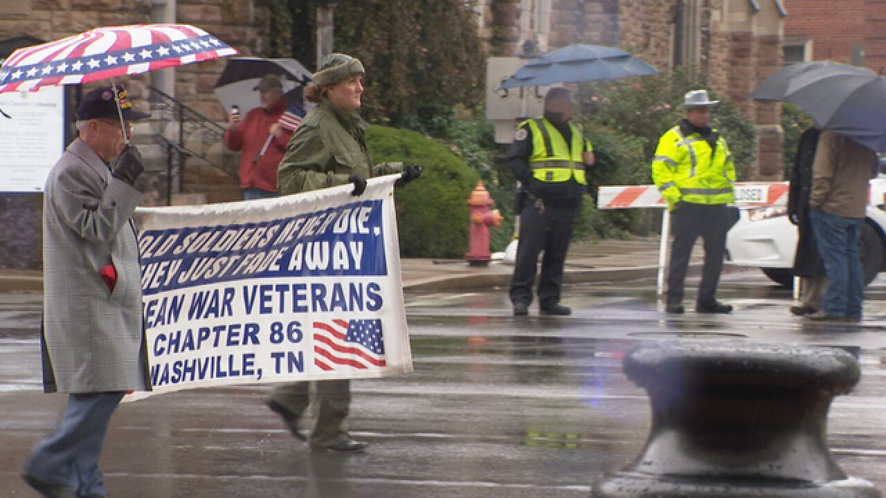 Nashville to honor veterans with parade Monday