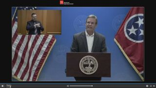 Gov Bill Lee COVID-19 briefing
