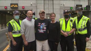tunnel to towers walk 2020