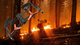Drone Wildfires