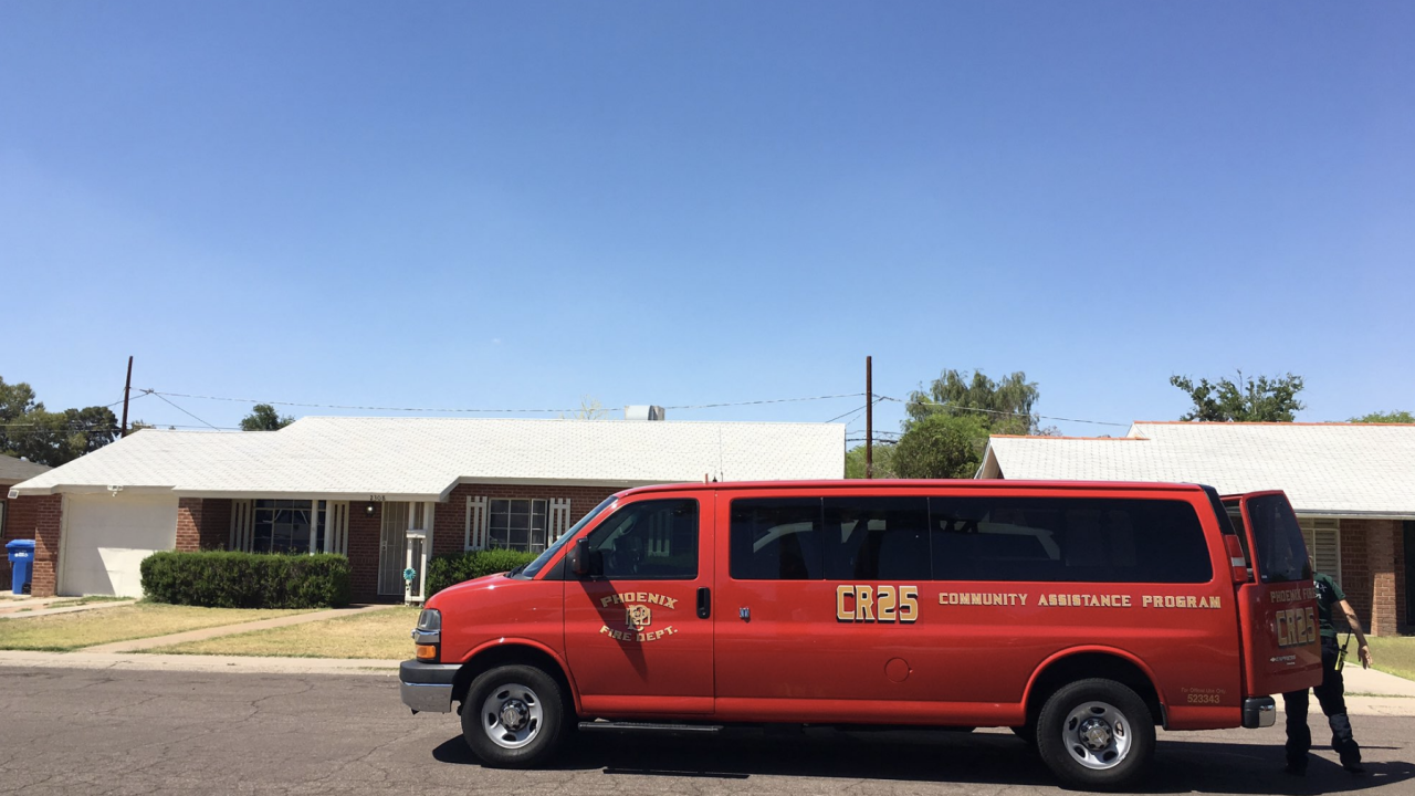 24th Street and Indian School Road drowning call