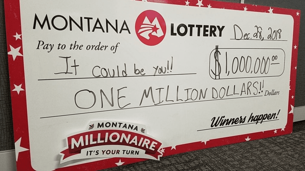 """Montana Millionaire"" winner claims prize"