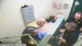 Video from Brown County Jail shows last moments of inmate Zachary Goldson's life.