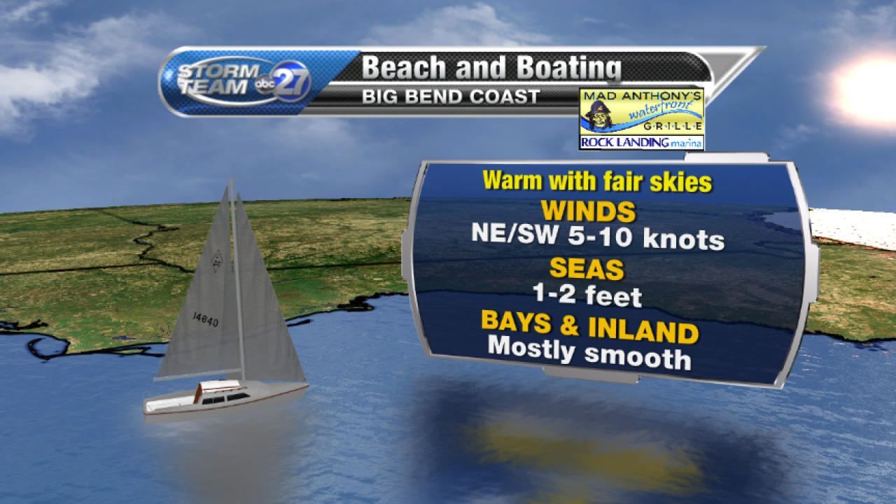 Beach and Boating forecast A (05/08/2017)