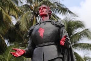 Columbus Statue Arrests