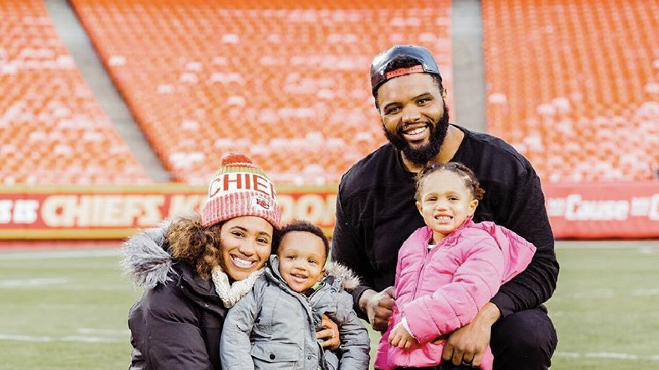Marissa Allen and family