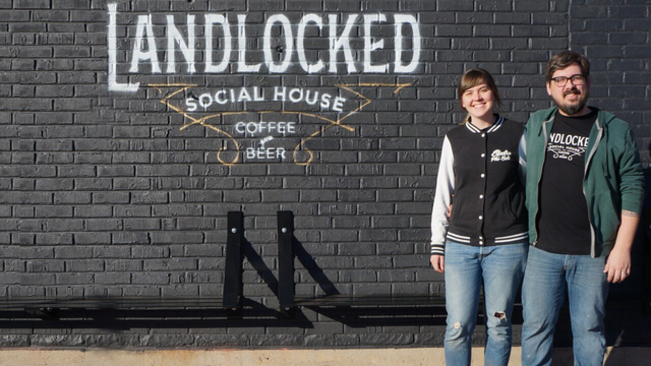 Landlocked Social House, a one-stop place for craft beer and coffee, opens Wednesday in Walnut Hills