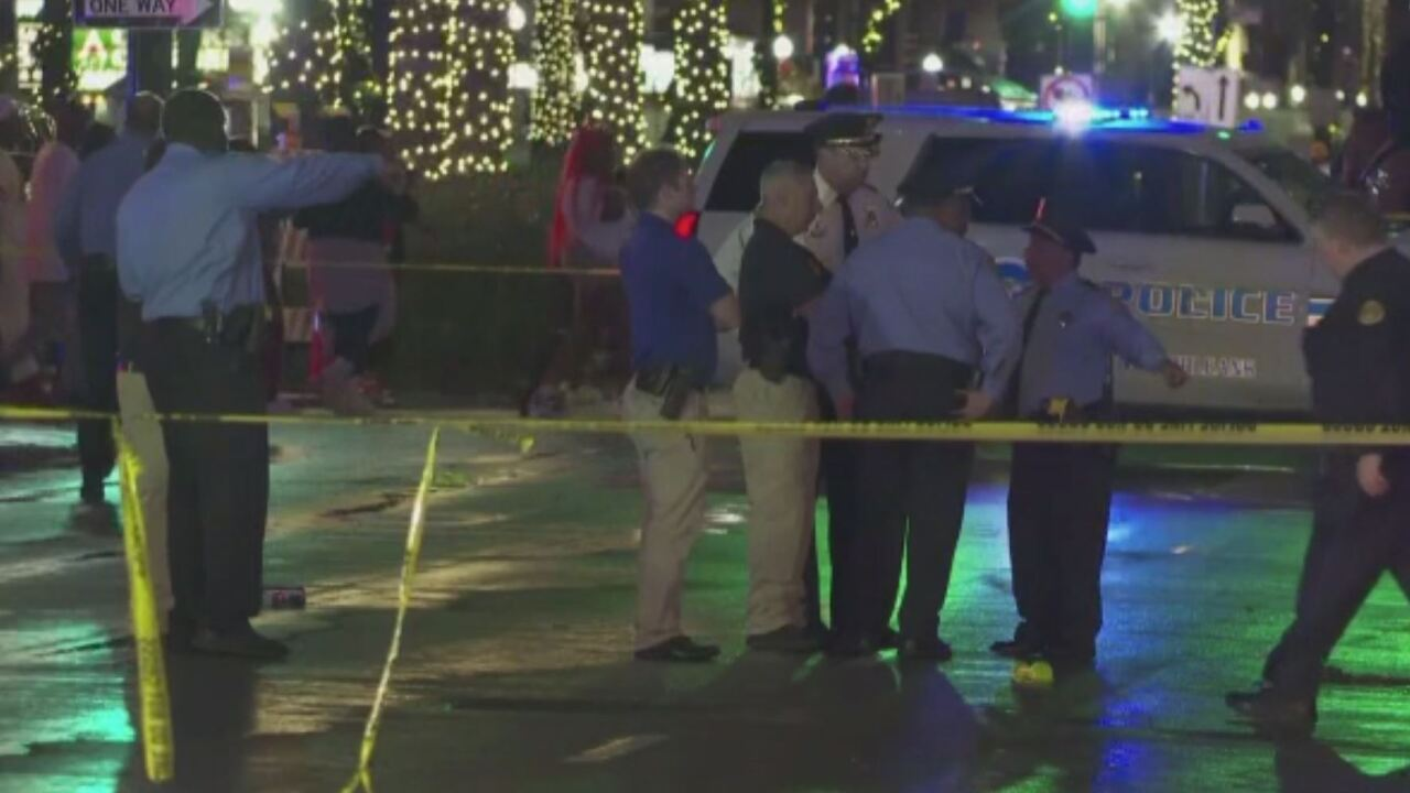 10 shot near French Quarter in New Orleans
