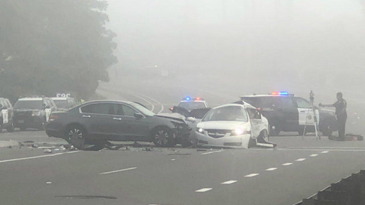 1 dead in crash on Mira Mesa street