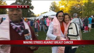 Utahns Making Strides Against Breast Cancer