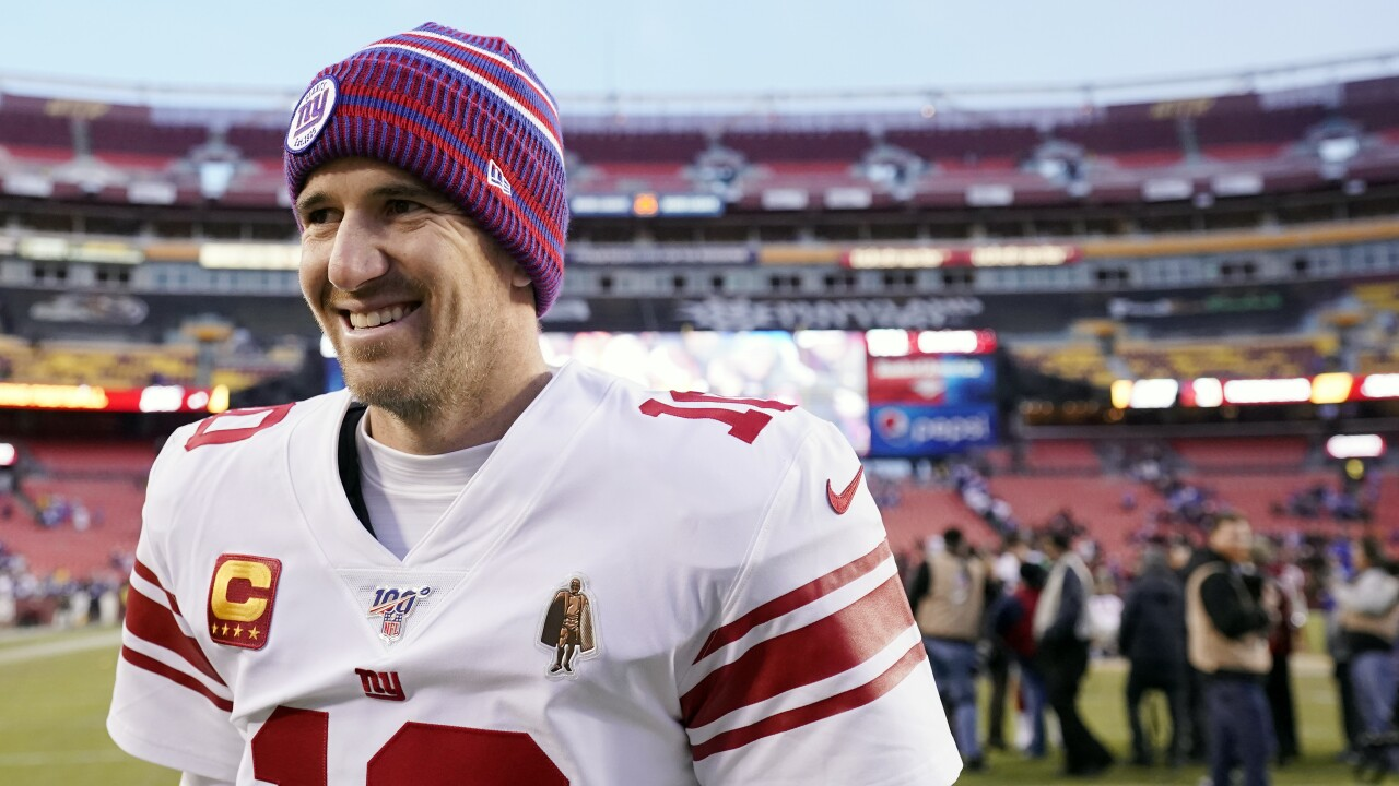 Eli Manning wins 2020 Athletes in Action/Bart Starr Award