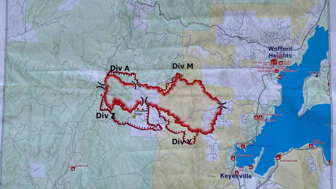 French Fire Coverage Map, August 20, 2021