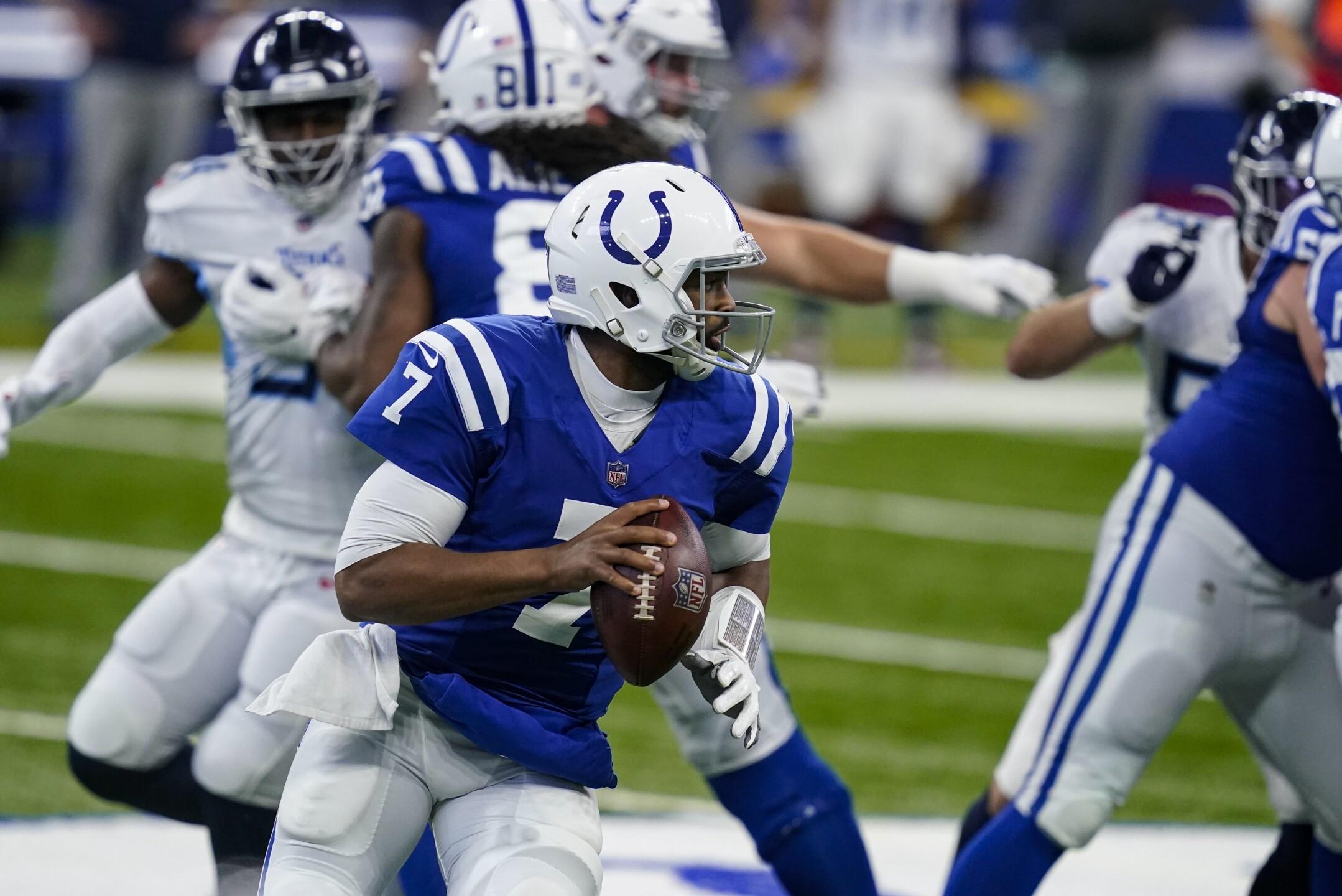 Titans Colts Football