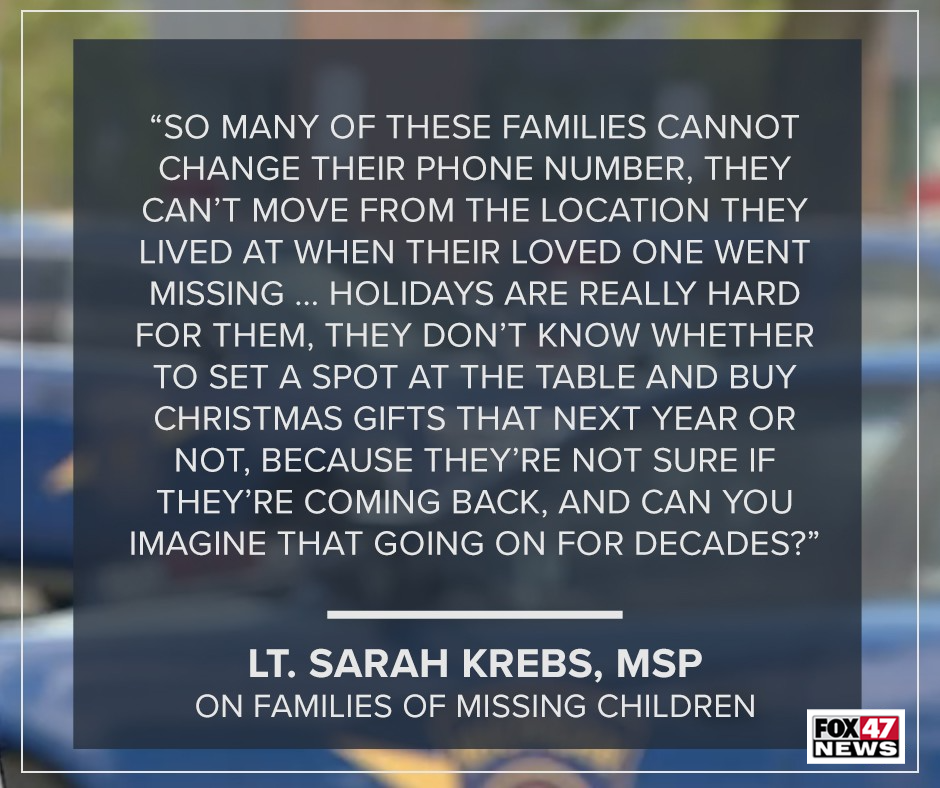 Krebs said there is agony for so many of these families.
