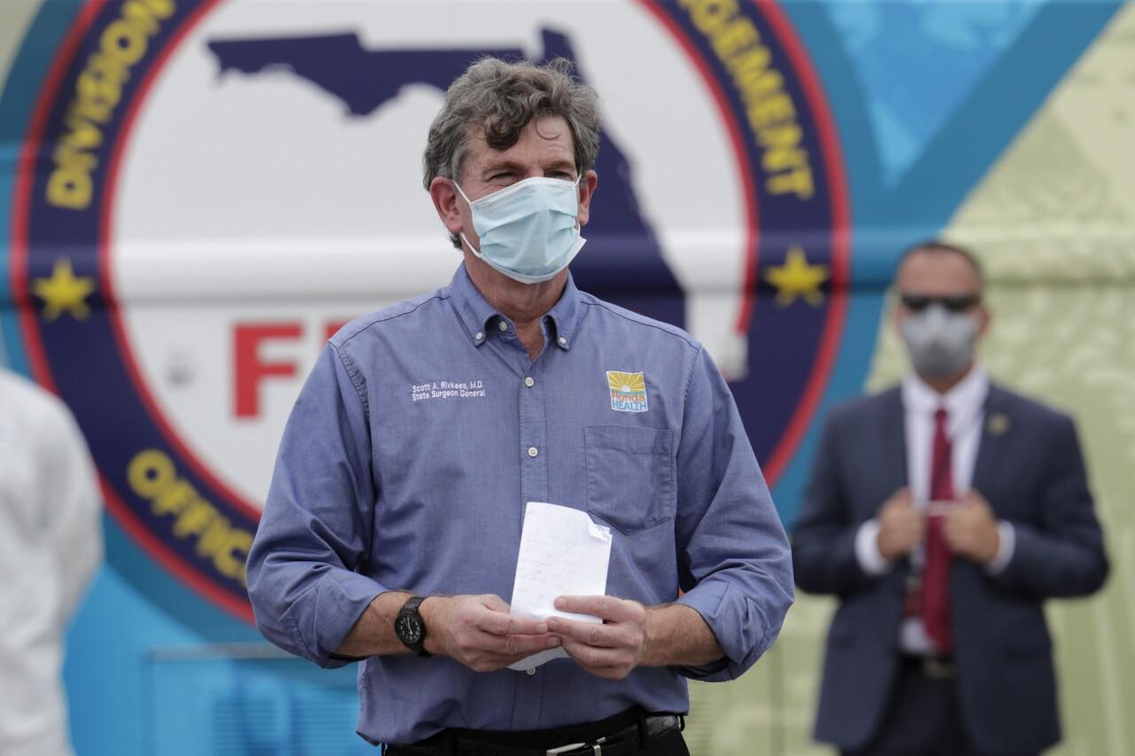 Dr. Scott Rivkees, Florida Surgeon General in 2020
