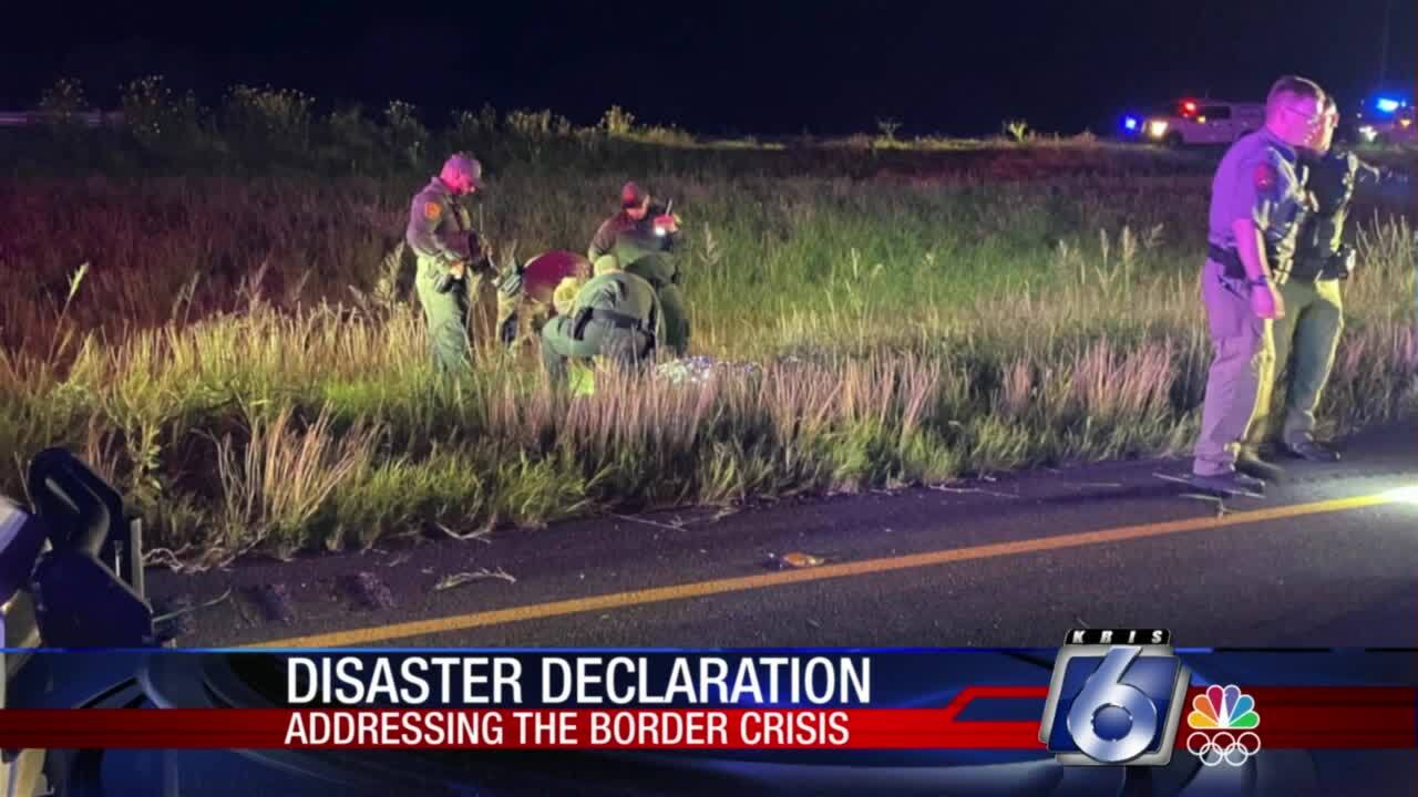 Disaster declaration for several Coastal Bend counties