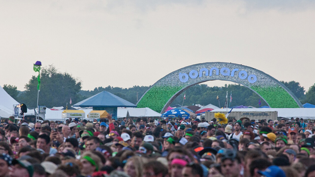 80,000 expected to attend Bonnaroo music festival in