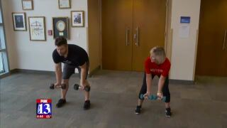 Heart healthy exercises you can do withdumbbells