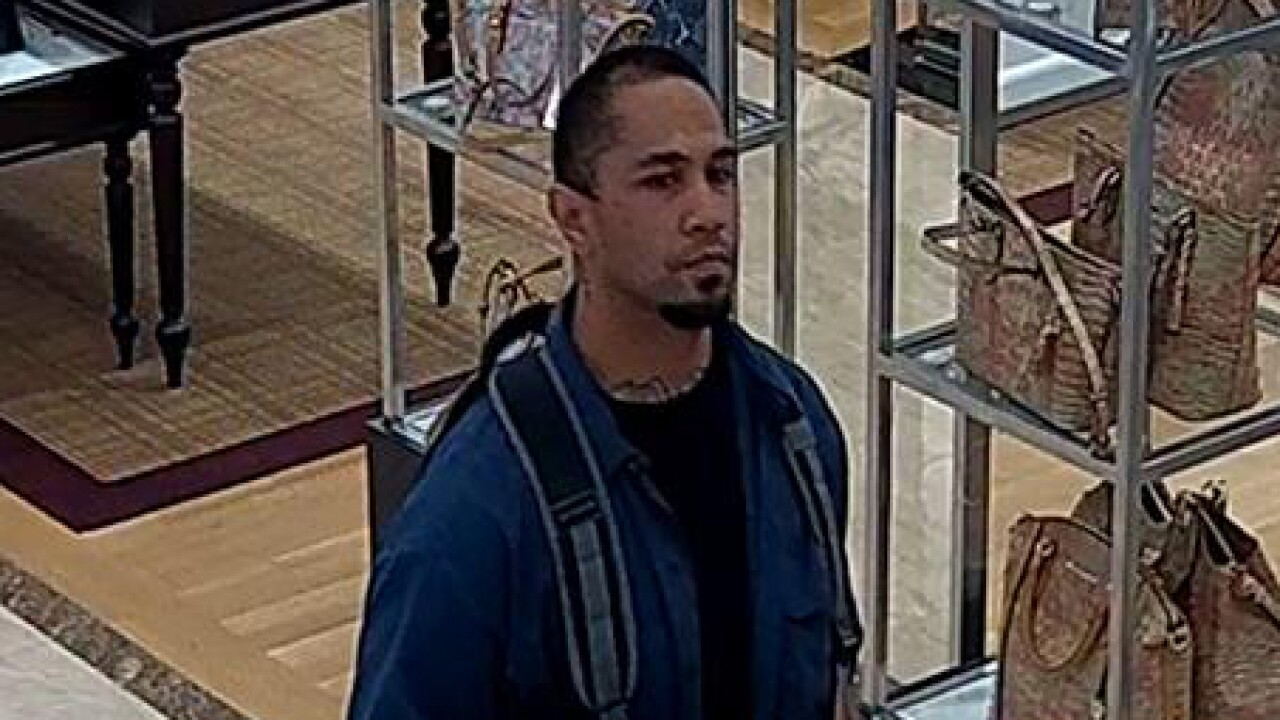 Murray Police looking for suspect in attempted theft of $495 backpack