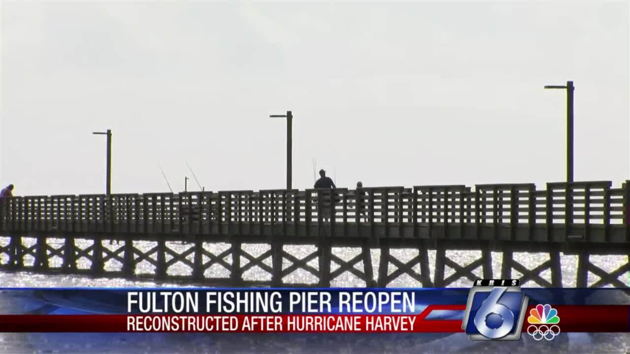 Fulton fishing pier ready for visitors after rebuilding