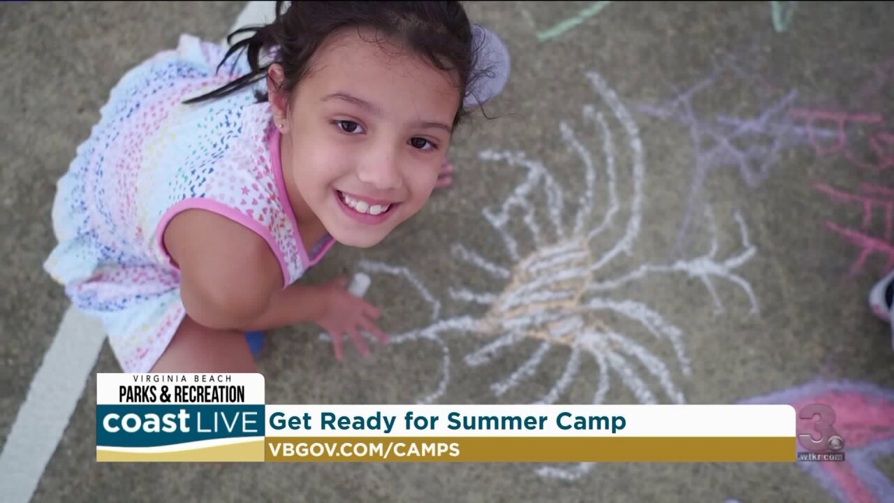 Gearing up for summer camp in Virginia Beach on Coast Live