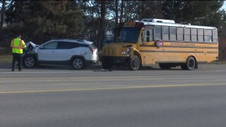 Crash involving Ada Township School Bus 02 19 2020