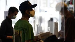 Virus Outbreak California los angeles indoor mask
