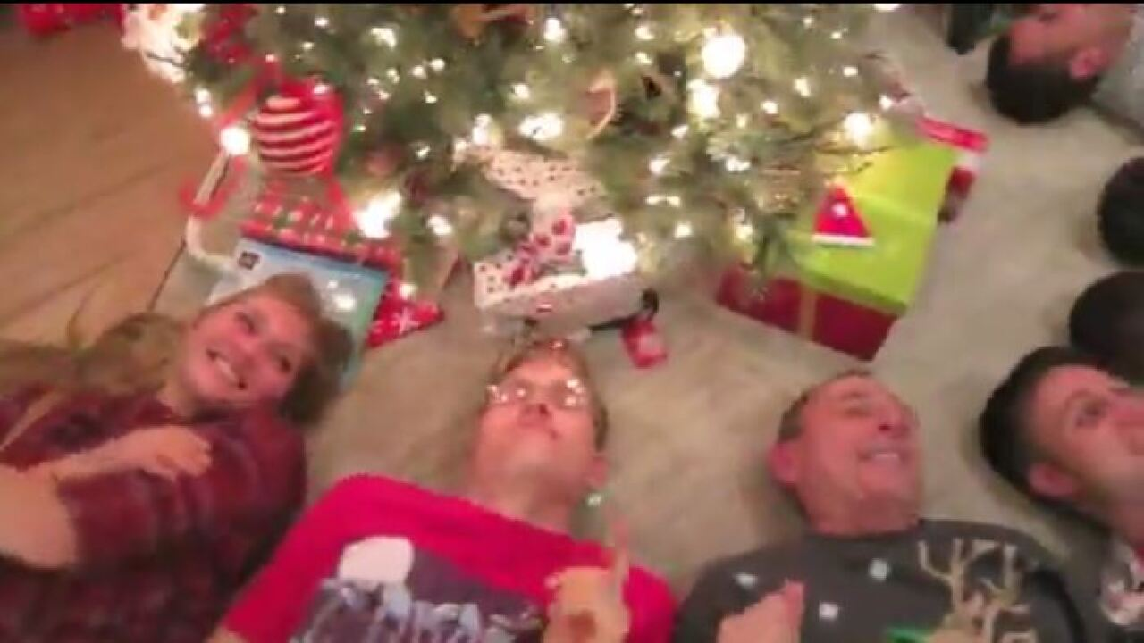 Rep. John Curtis posts festive holiday dance video with family