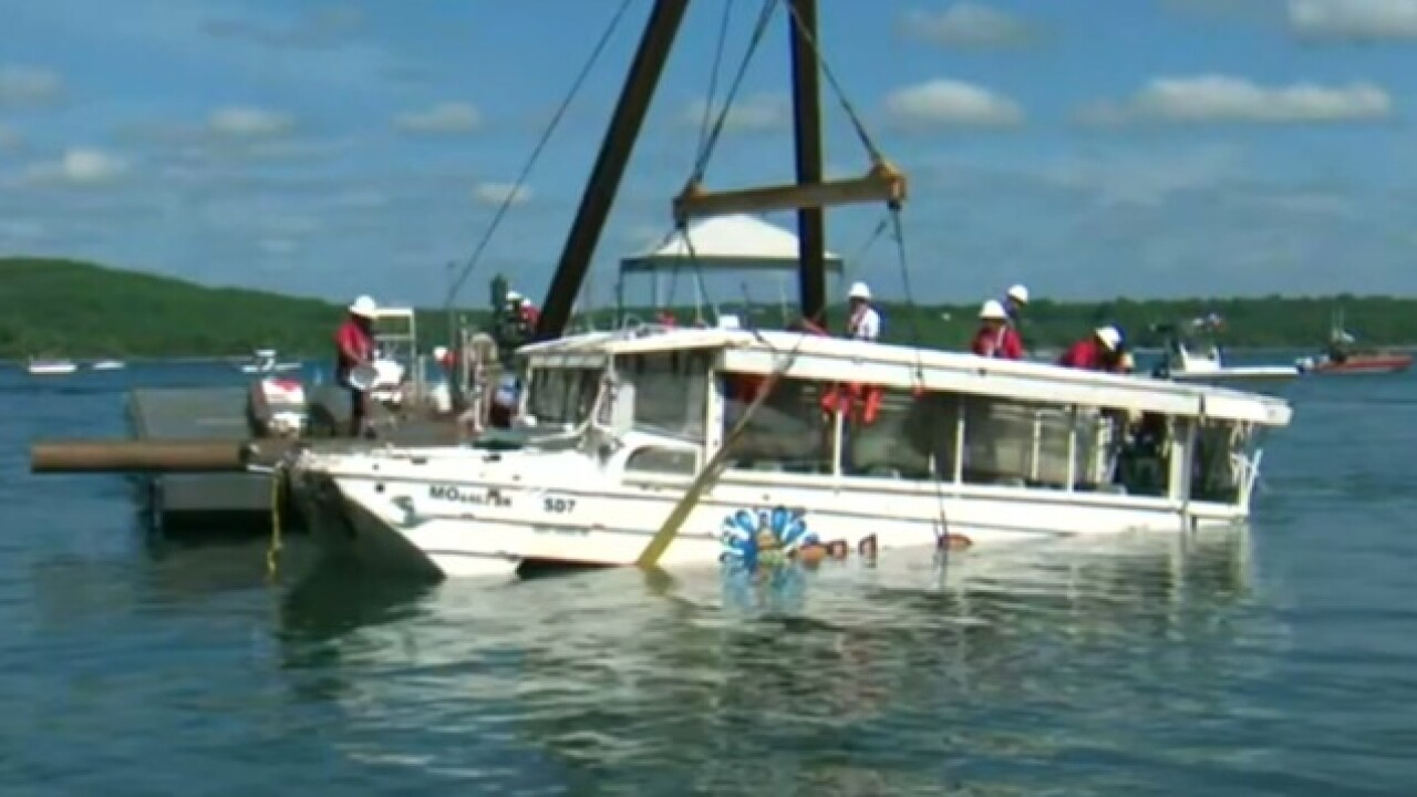 Missouri AG files consumer suit against duck boat company