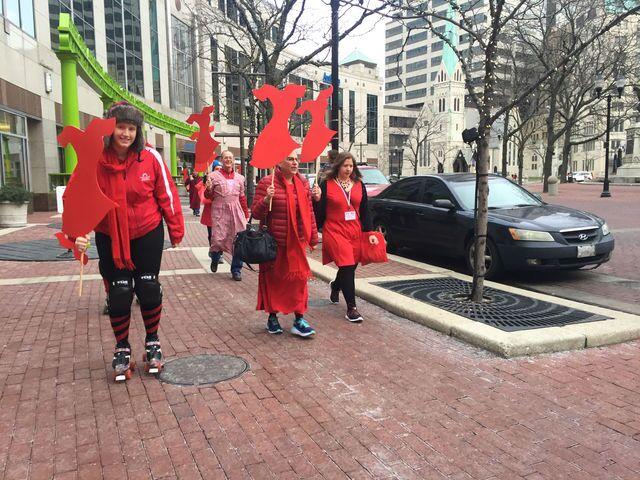 PHOTOS: Red Dress Dash benefits American Heart Association