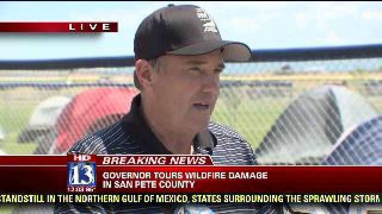 VIDEO: Governor Herbert speaks about Utah wildfires and prevention