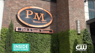 Fine Dine at PM Buenos Aires, Fish & Steakhouse inBrickell