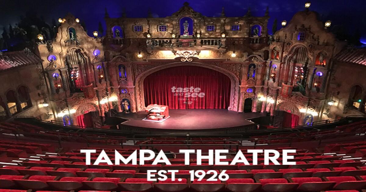 Tampa Theatre date ideas Tampa
