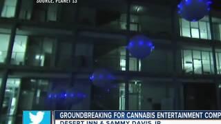Groundbreaking ceremony for Planet 13