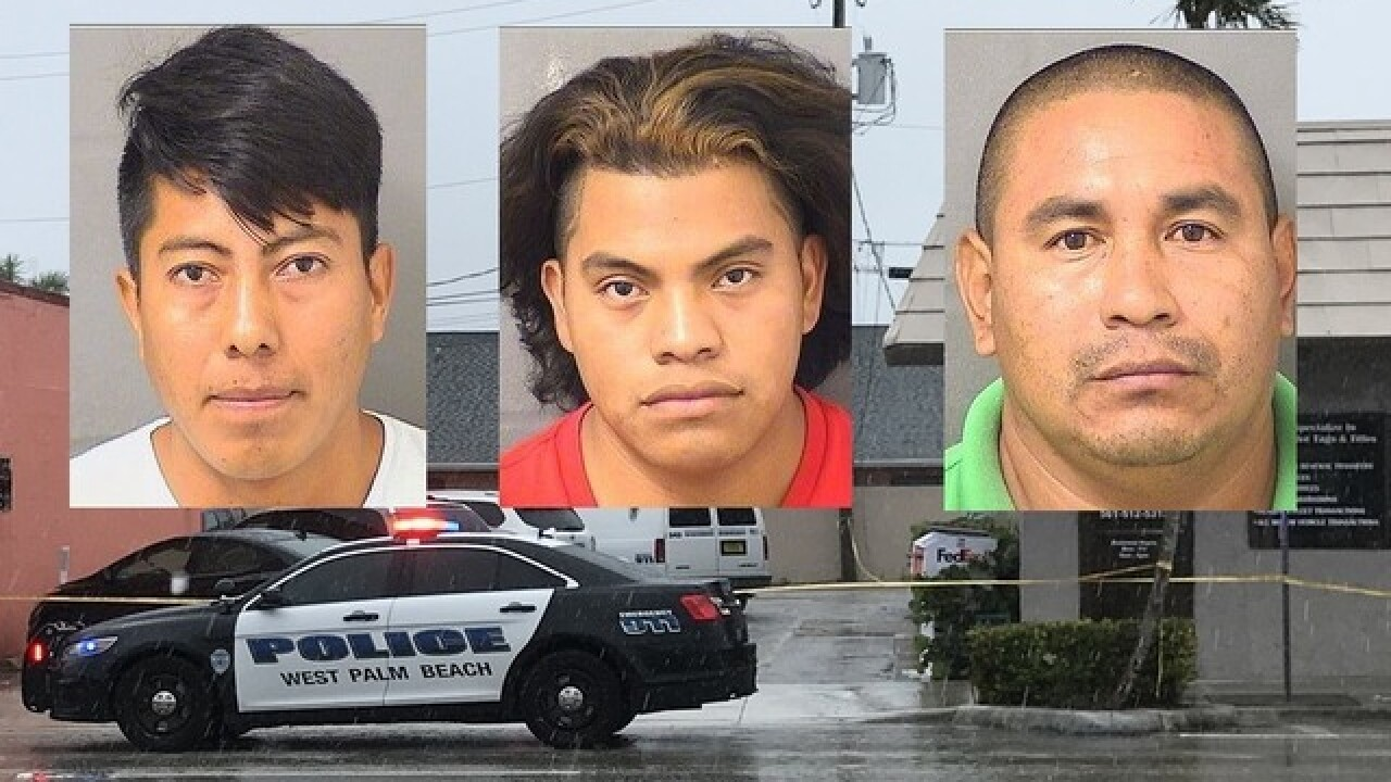Three arrested in West Palm Beach Police human trafficking, prostitution bust